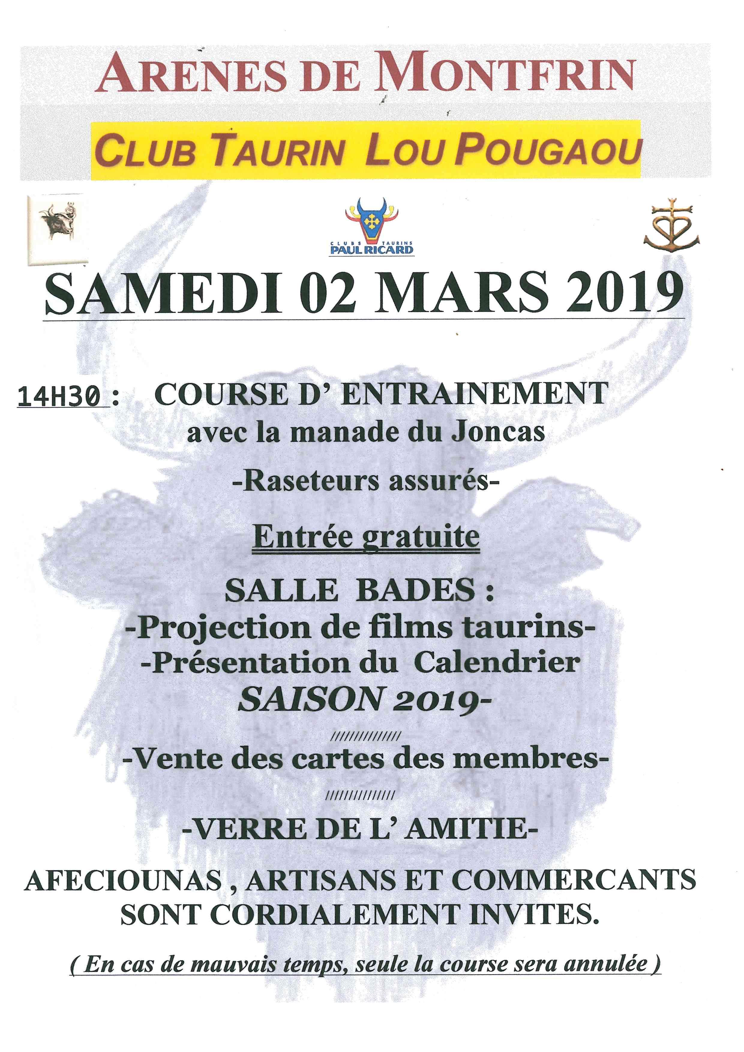 Temps Course Calendrier 2019.Info Flash Actualites De La Ville De Montfrin 30490